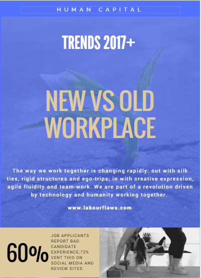 new vs old workplace infographic labourlaw.com 2017